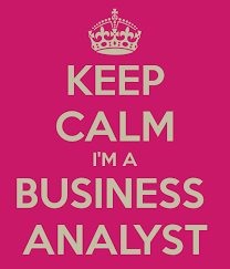 Keep calm i'm a business analyst