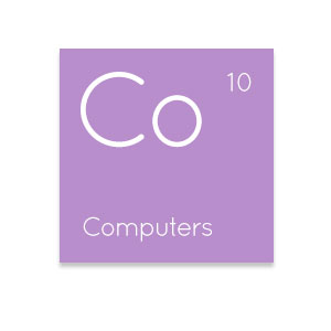Computers IT element icon