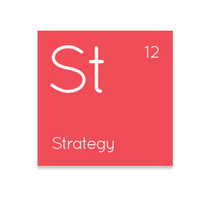 Strategy icon, one of the IT Elements