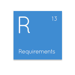 Requirements IT element icon