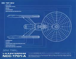 USS Enterprise blueprint