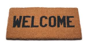 Hello world welcome mat