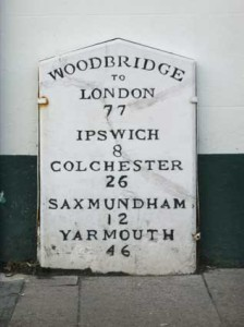 Milestone in Woodbridge