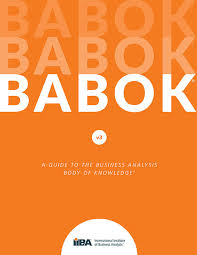 BABOK anatomy of a profession