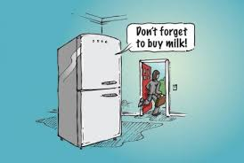 connected fridge
