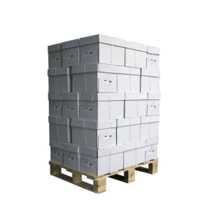 Pallete of boxes with no labela - white label goods?