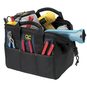 A kit bag full of tools