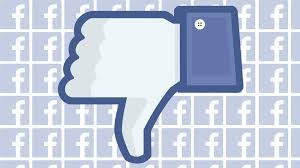 new Facebook dislike