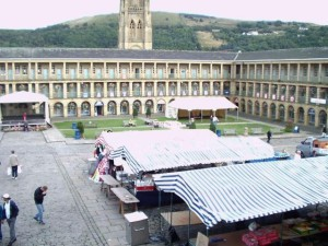 Market in the Piece Hall, Halifax