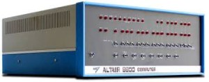 Altair 8800 hobby computer