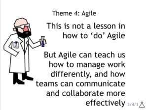 The IT Chemist and Agile practices