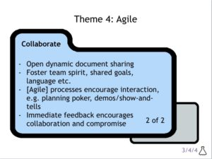 Collaborating with Agile