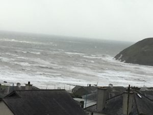 High tides in Cardigan Bay