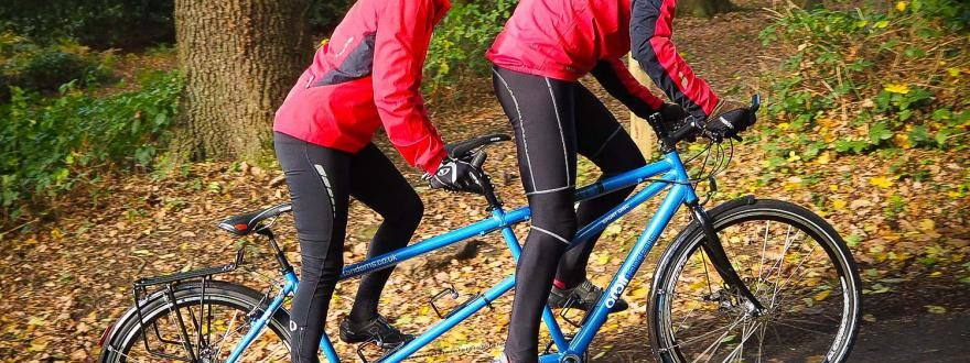 The power of 2, tandem cycle analogy